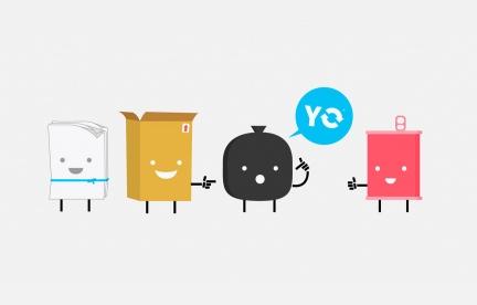 Diseño de identidad visual para Yo Reciclo.