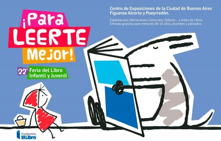 Diseño de identidad visual para la 22º Feria del Libro Infantil.