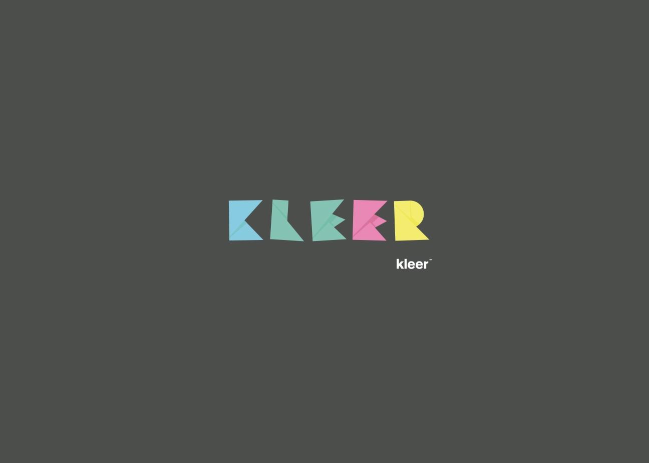 Diseño de identidad corporativa para Kleer - Gorricho