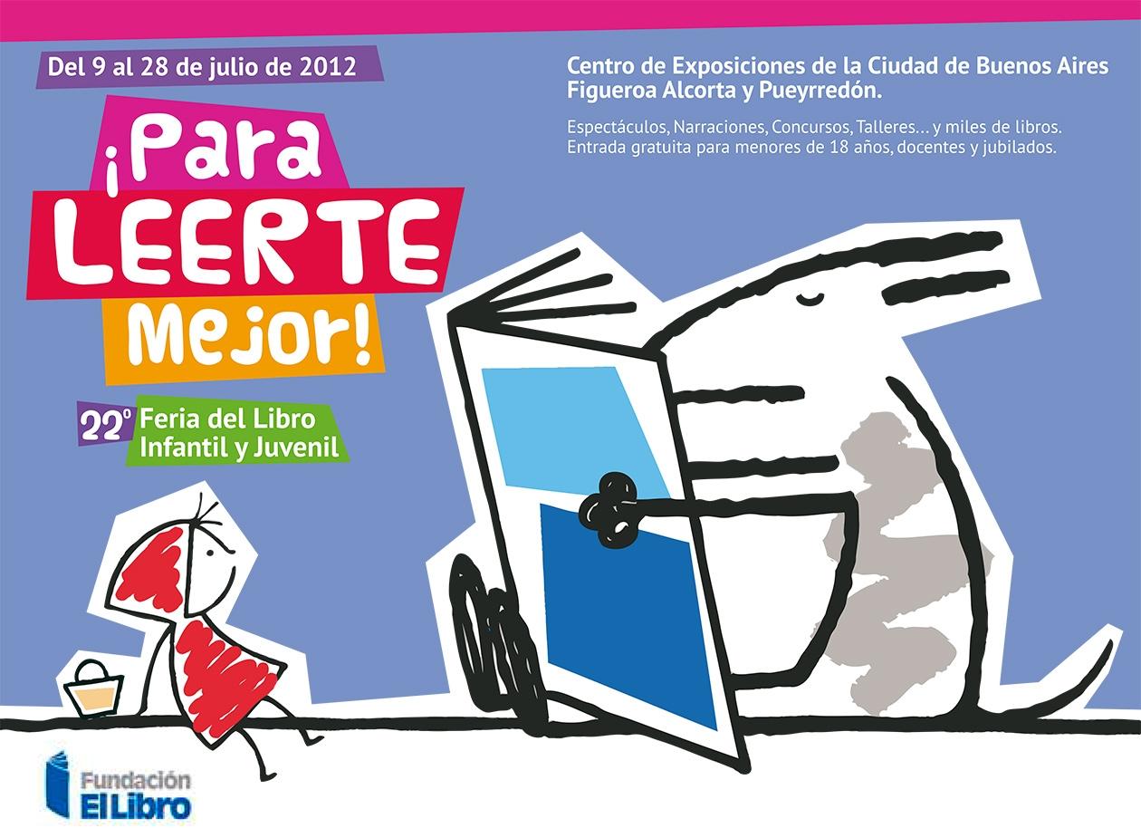 Concurso Diseño de Imagen para la Feria del Libro Infantil y Juvenil. Afiche.