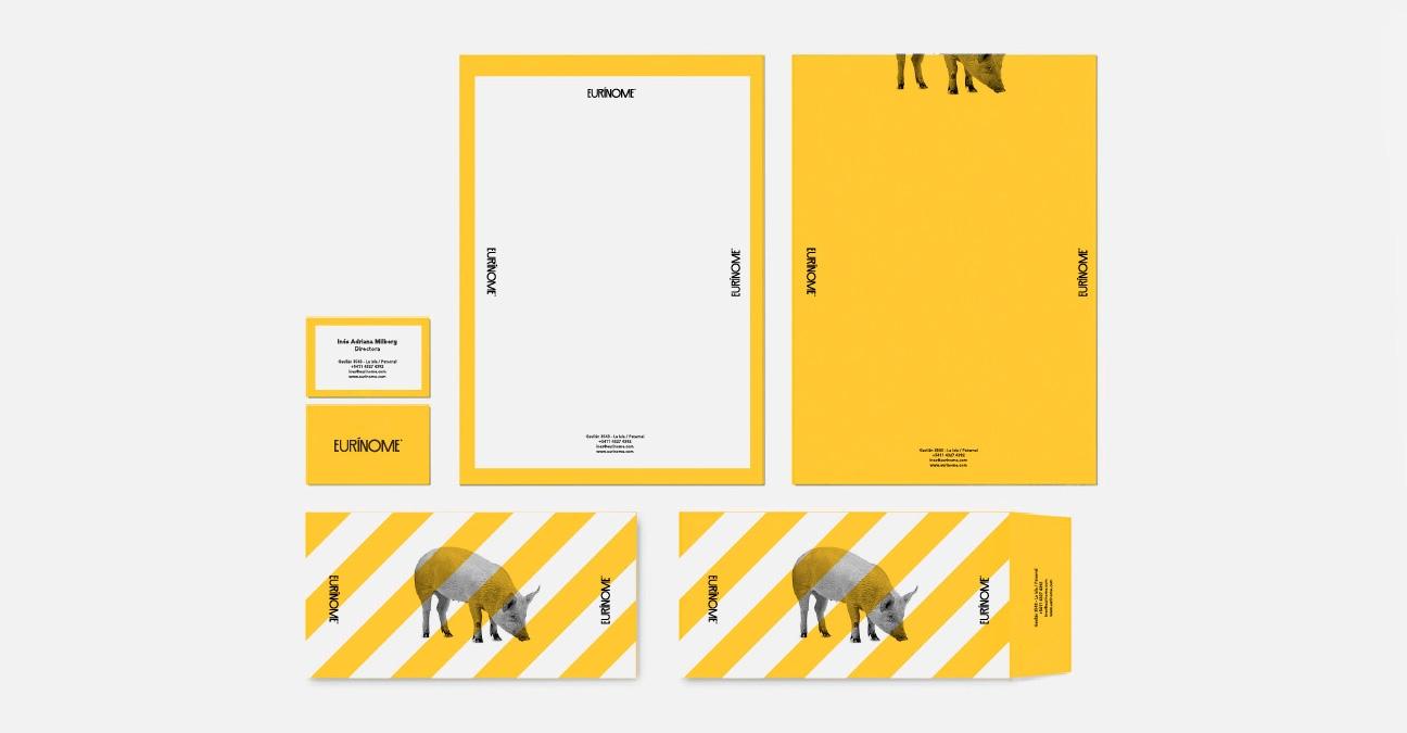 Rediseño de marca para Pyme. Diseño de papelería.