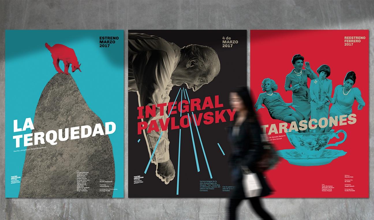 Nueva identidad del Teatro Cervantes - Teatro Nacional Argentino