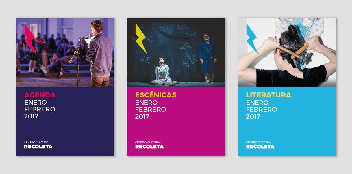Nueva identidad del Centro Cultural Recoleta