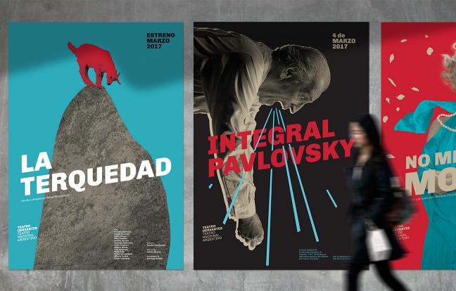 Diseño de identidad Teatro Nacional Argentino – Teatro Cervantes