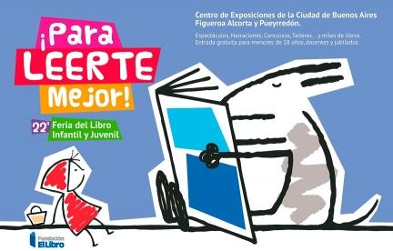 Diseño de comunicación visual para la 22º Feria del Libro Infantil.