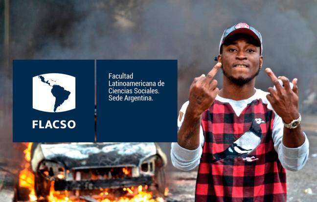 Diseño de identidad visual de FLACSO.