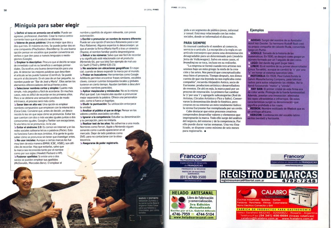 Entrevista a Martín Gorricho en la Revista Pymes.