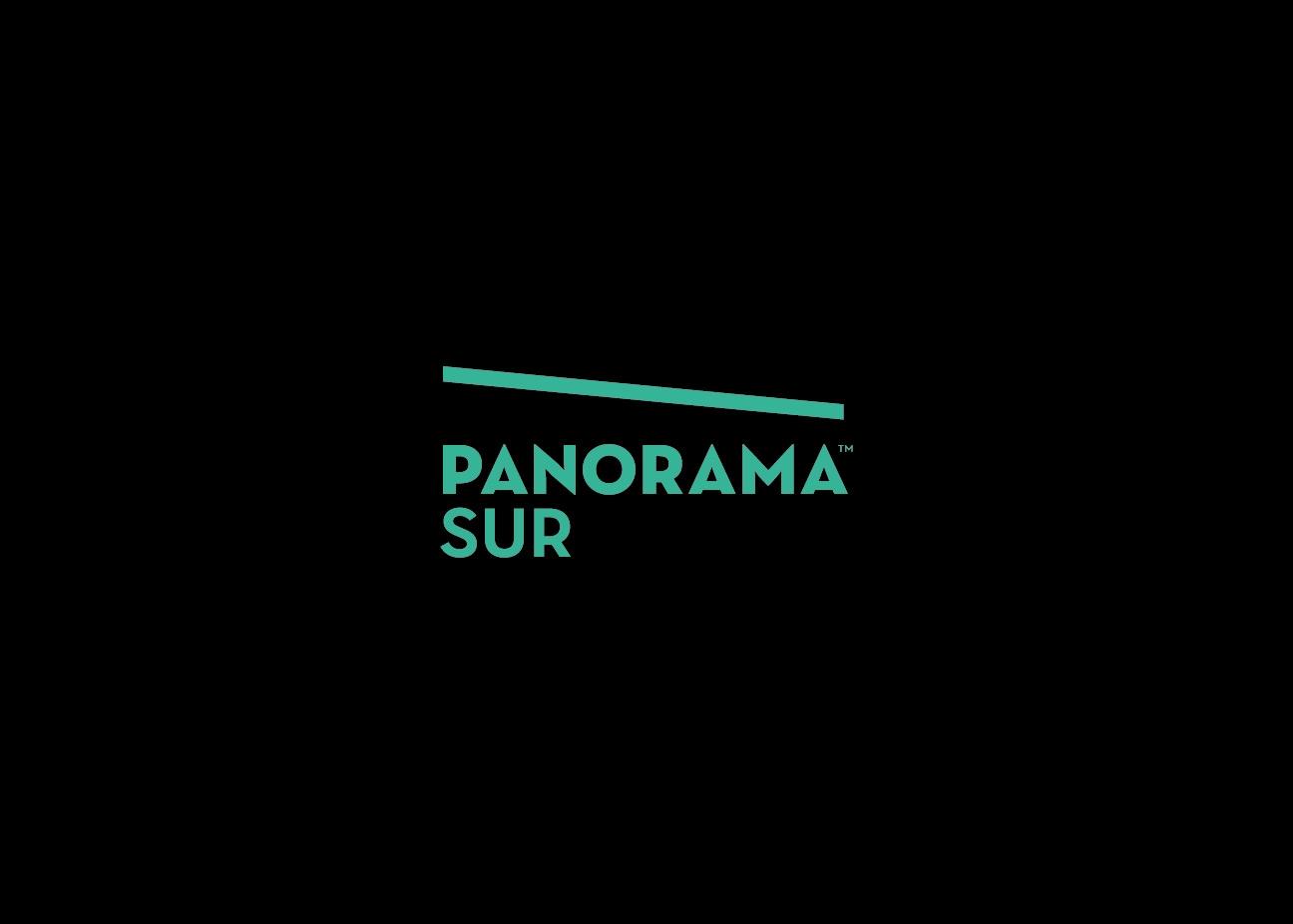 Diseño de marca para organización cultural. Diseño de logotipo de Panorama Sur.