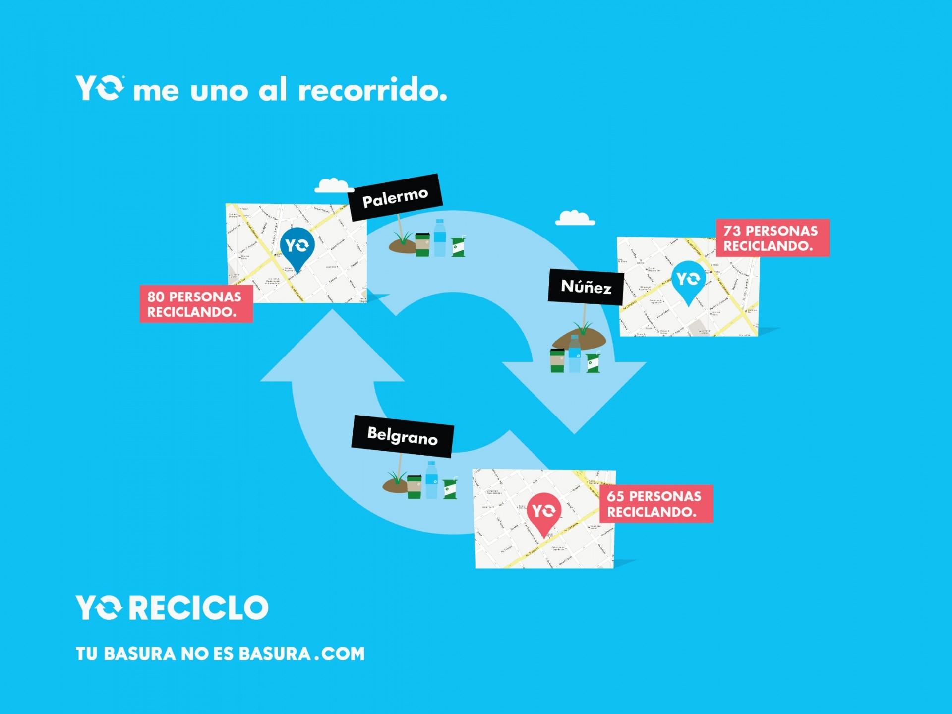 Diseño de sistema de identidad visual para Yo Reciclo.