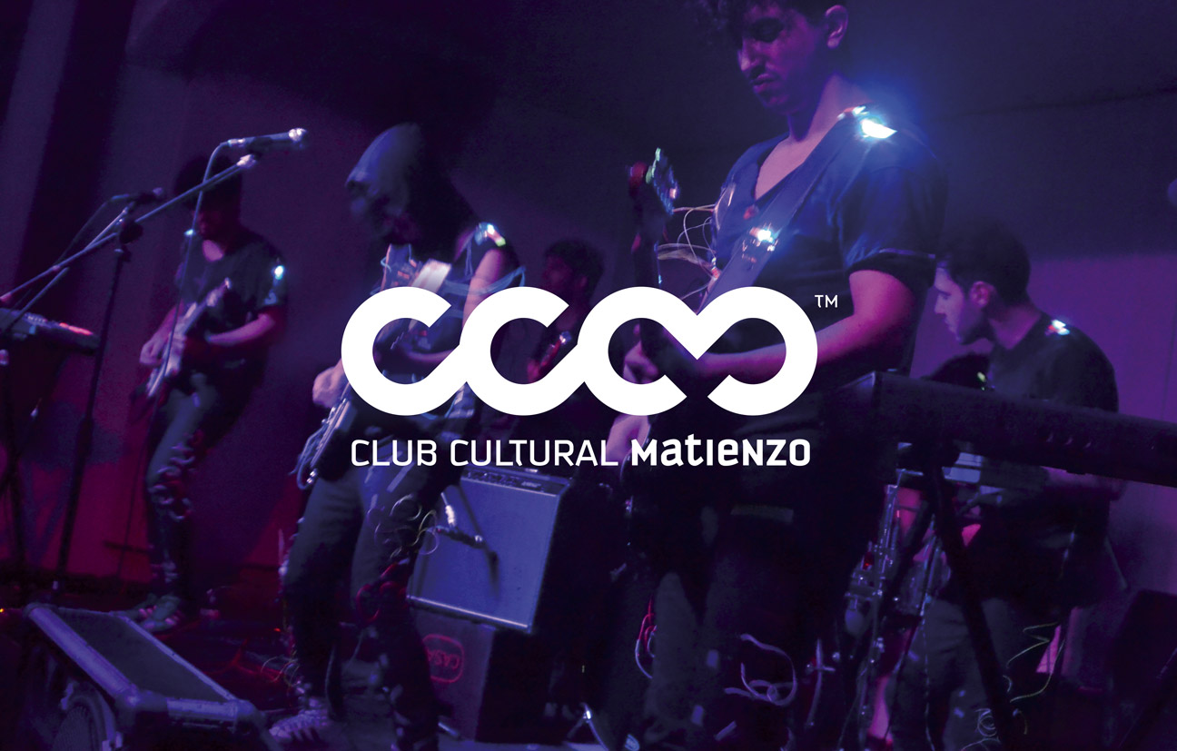 Diseño de identidad para organización cultural. Diseño de marca para Club Cultural Matienzo.