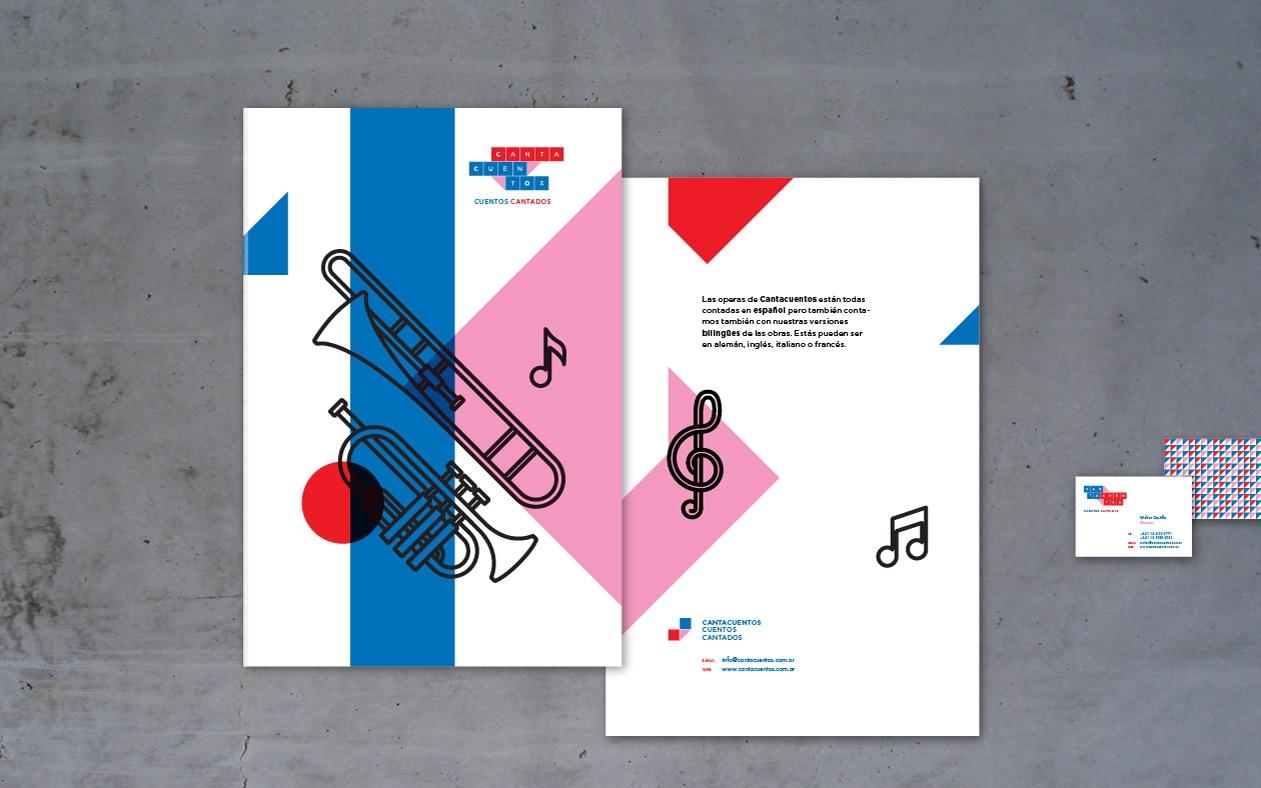 Diseño de marca e identidad visual para Cantacuentos.