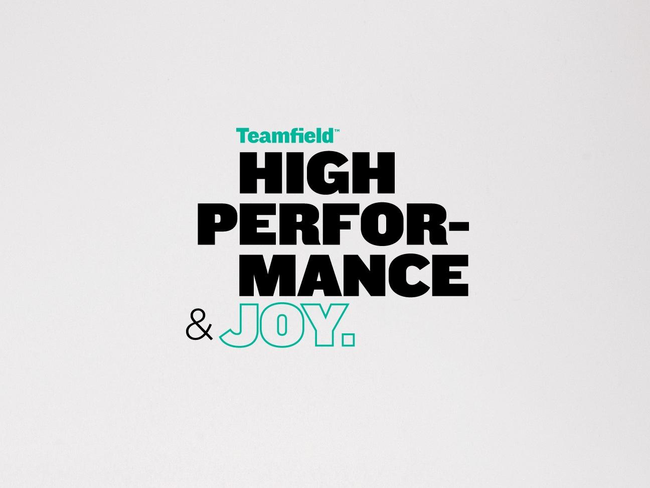 Naming. Diseño de marca para Teamfield. Diseño de avatares para app.