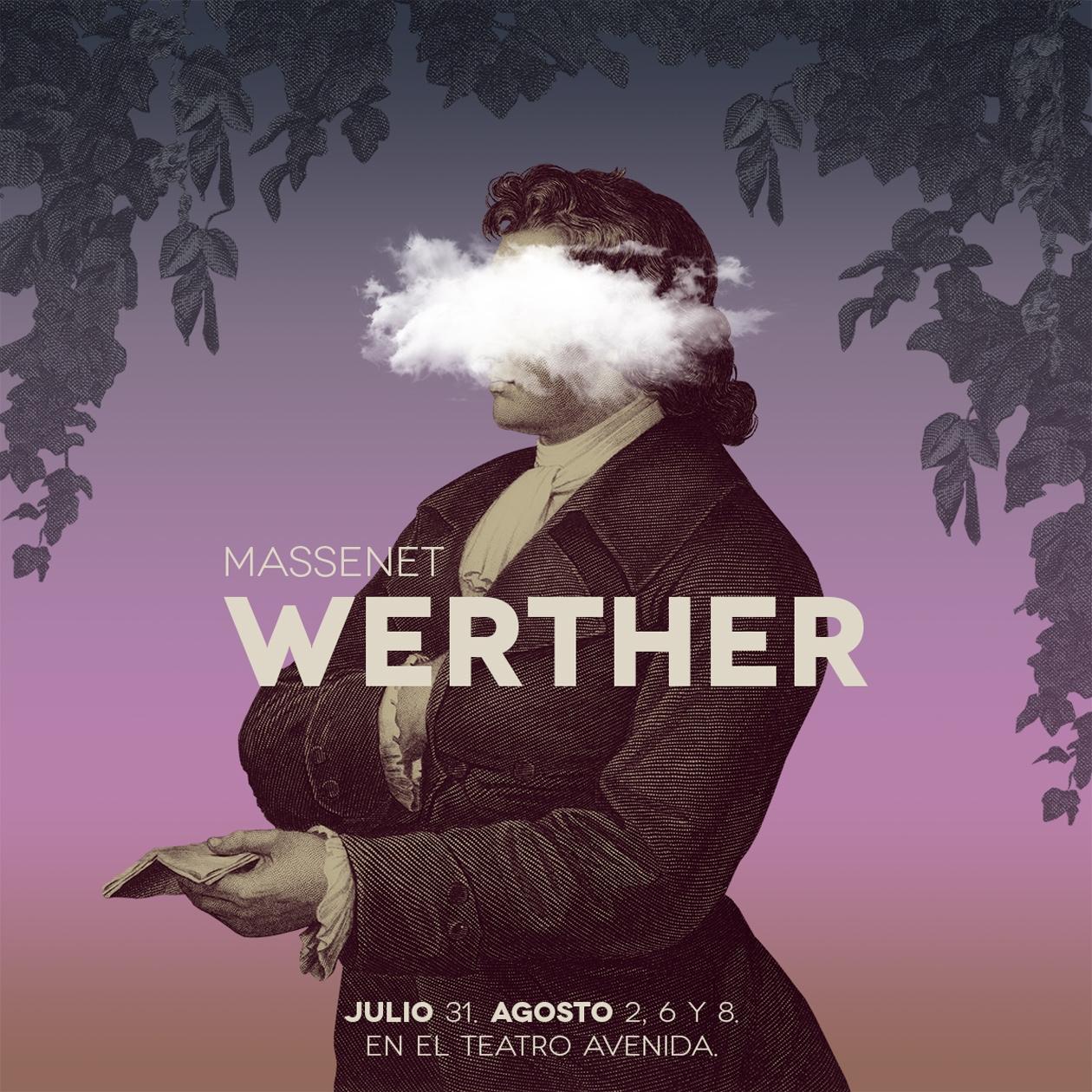 Diseño de comunicación visual para la ópera Werther