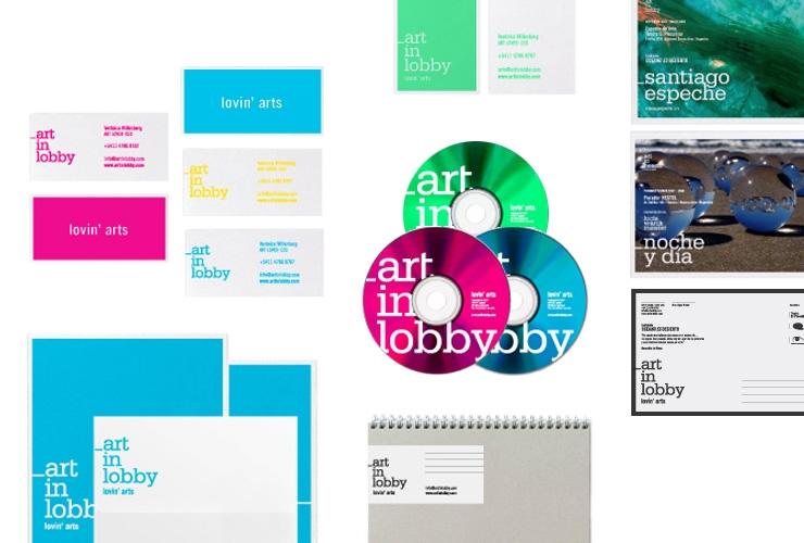 Diseño de identidad visual para Art in Lobby - Gorricho - diseño de marcas