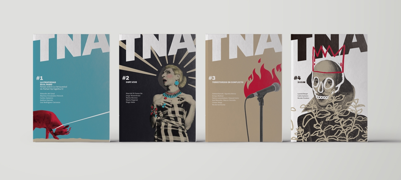Diseño identidad teatro nacional cervantes - publicaciones TNA