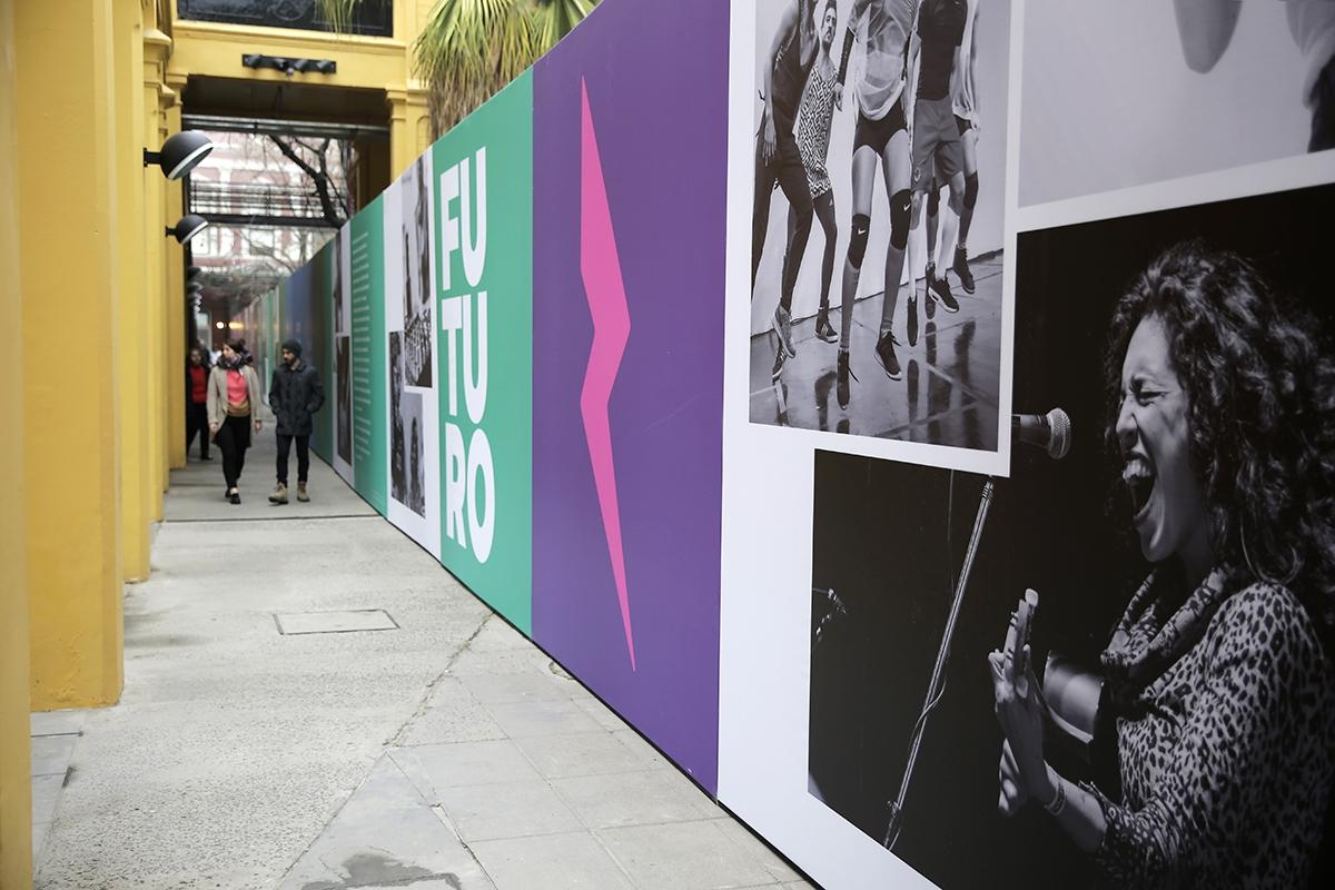 Diseño de identidad del Centro Cultural Recoleta