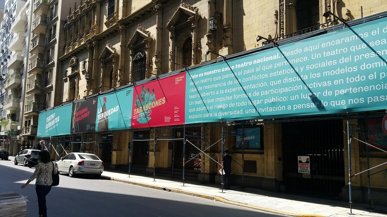 Diseño de afiches Teatro Cervantes - Teatro Nacional Argentino