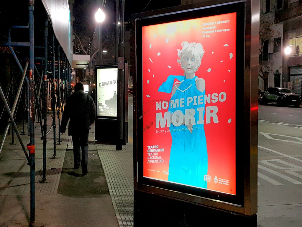 Diseño de afiches para Teatro Nacional Argentino - Teatro Cervantes