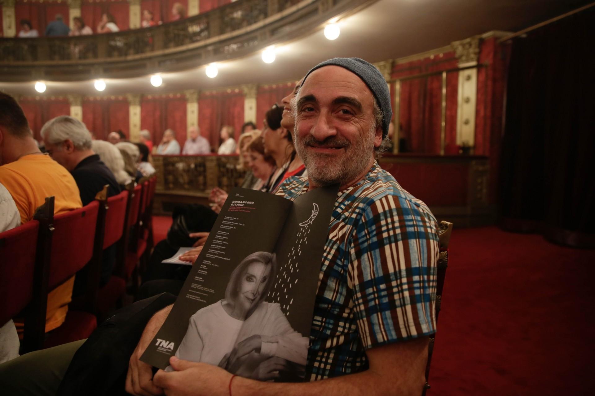 Diseño de afiches Teatro Nacional Argentino - Teatro Cervantes - Romancero Gitano