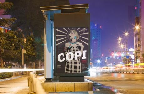 Afiche seleccionado para integrar la Bienal Internacional del Cartel en México