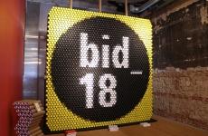 Gorricho diseño seleccionado en la 6ta. Bienal Iberoamericana de Diseño, en Madrid.