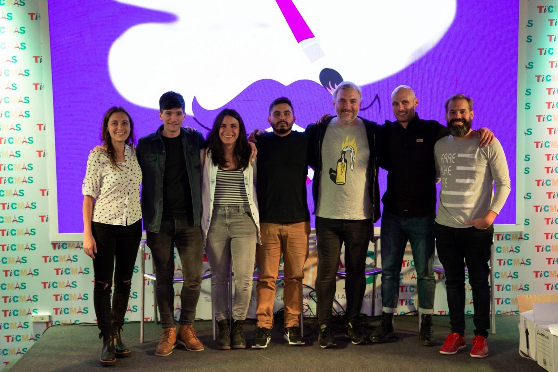 Conversaciones sobre diseño y creatividad. Feria del libro de Buenos Aires.