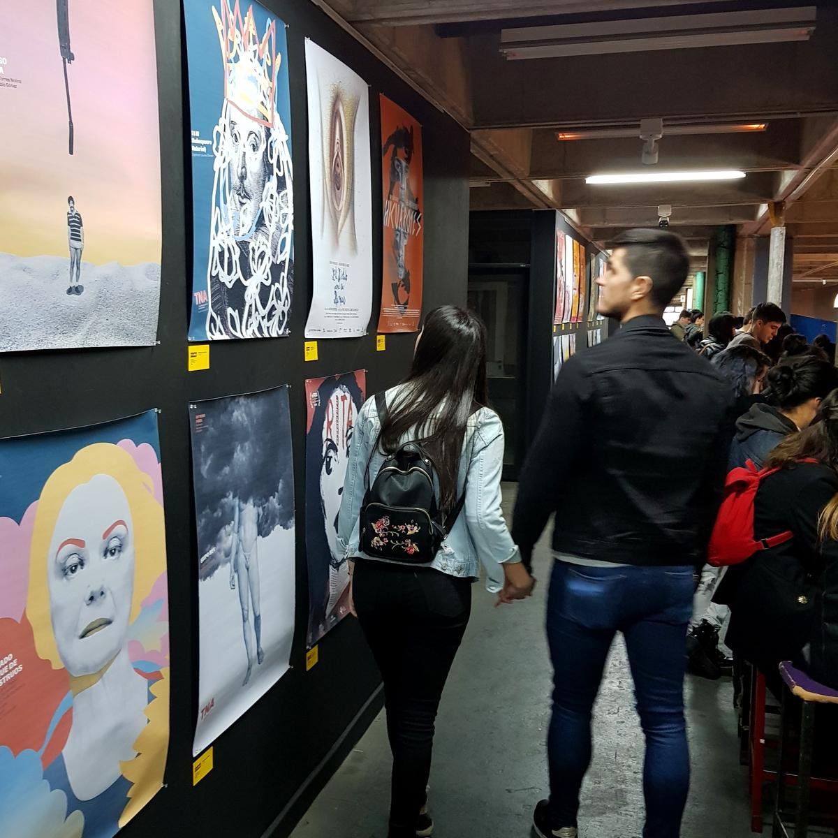 Gorricho en el Festival Internacional de Afiches UBA