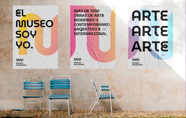 Diseño de identidad Museo de Arte Moderno de Buenos Aires