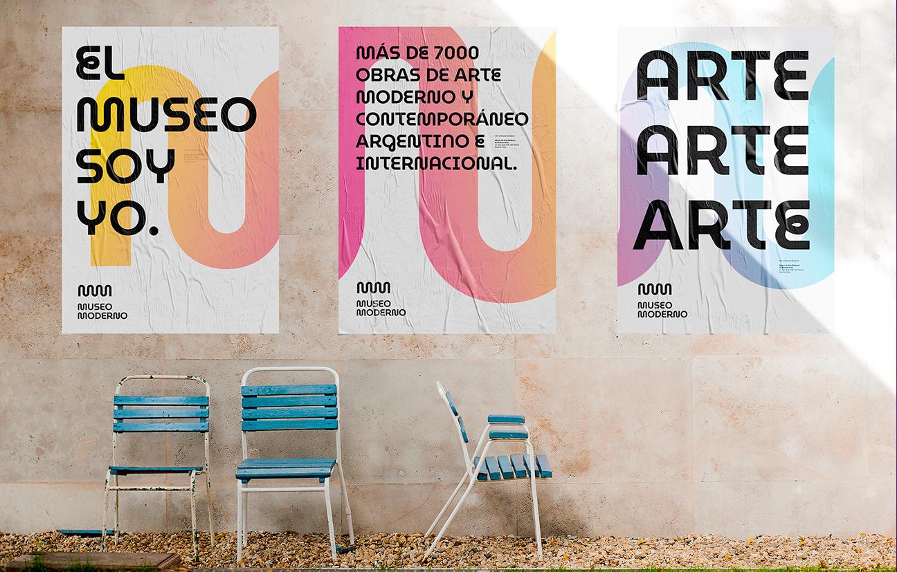 Rediseño de logotipo e identidad visual para el más importante museo de arte moderno y contemporáneo de la región.