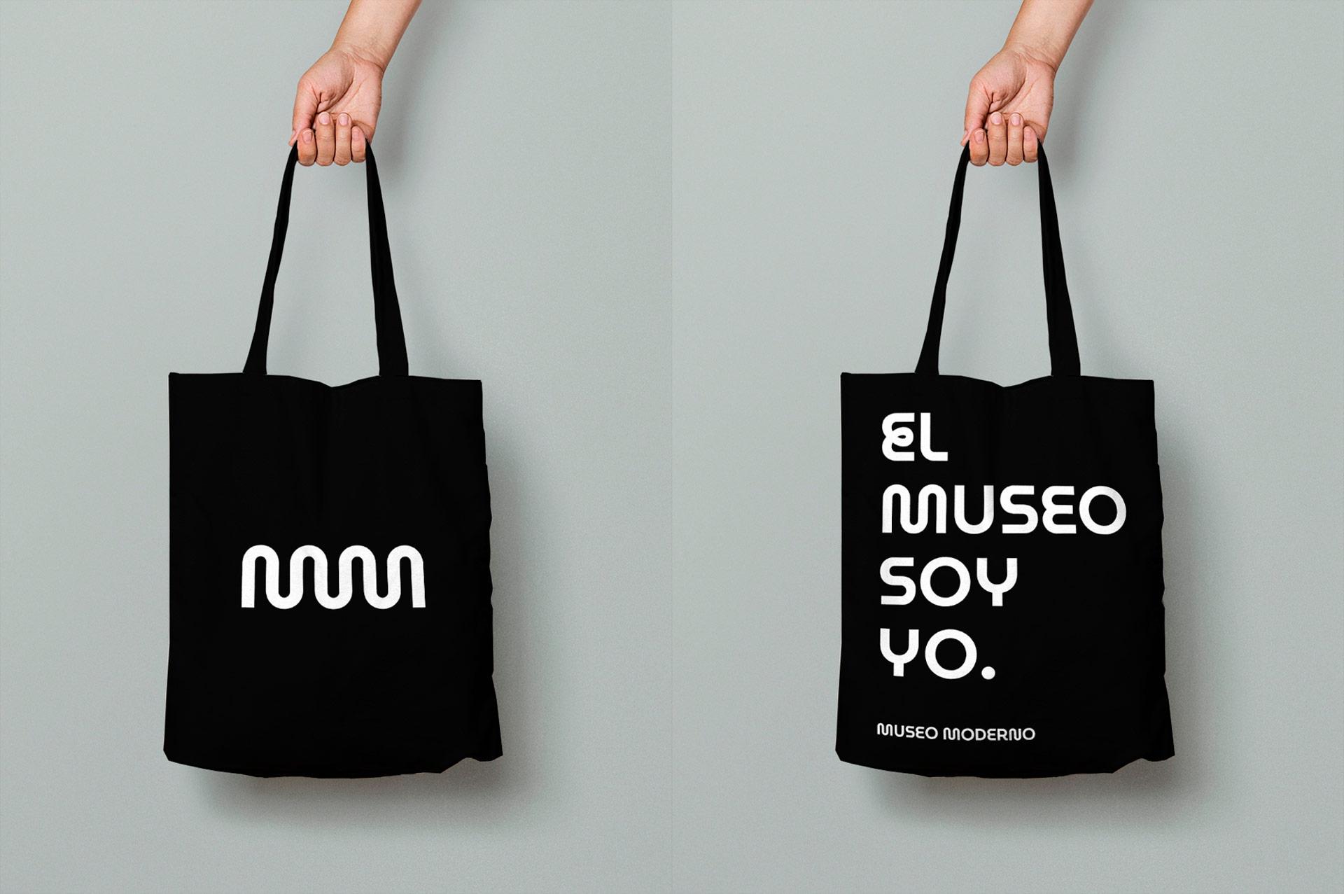 Diseño de identidad visual Museo de Arte Moderno de Buenos Aires.