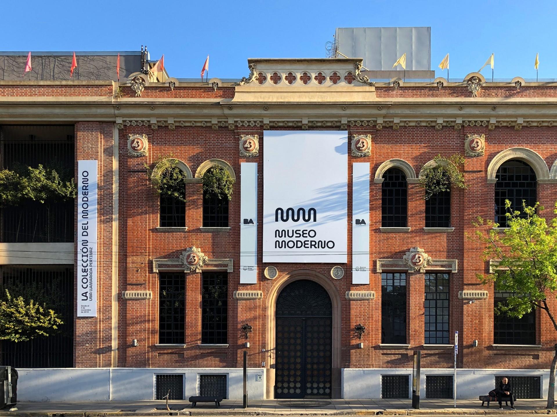Nueva identidad visual Museo de Arte Moderno de Buenos Aires.