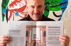 Gorricho Diseño en el suplemento ARQ del Diario Clarín