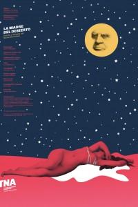 2019. Afiche para la obra La madre del desierto, Teatro Nacional Argentino - Teatro Cervantes.