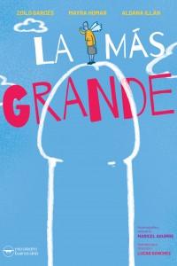 2019. Afiche para la obra La más grande, de Lucas Sánchez. Microteatro, Buenos Aires.