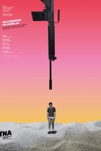 2019. Afiche para la obra Un domingo en familia, Teatro Nacional Argentino - Teatro Cervantes.