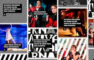 Diseño identidad institucional Alternativa - Diseño de identidad para organismos culturales.