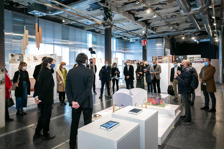 Diseño de identidad del Museo de Arte Moderno de Buenos Aires en la Bienal BID Madrid