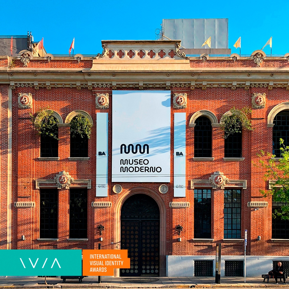 The top prize of International Visual Identity of the Year goes to Gorricho Diseño for Buenos Aires Museum of Modern Art