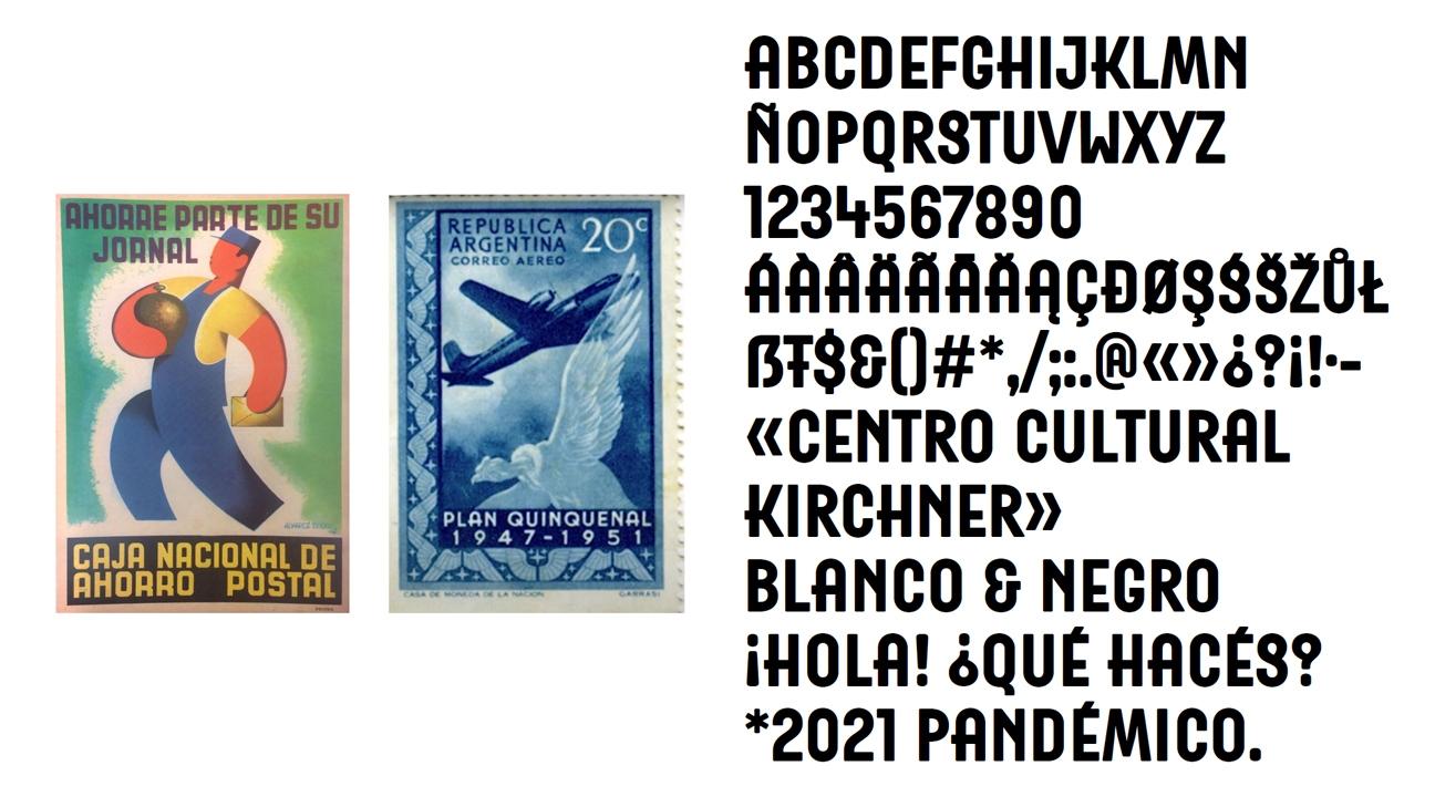 Diseño de Identidad Centro Cultural Kirchner - Letras del Correo